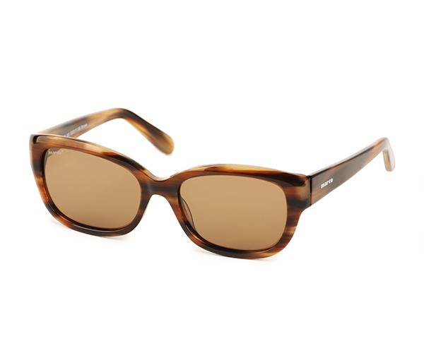 Marco 102 Brown Polarized Sunglasses