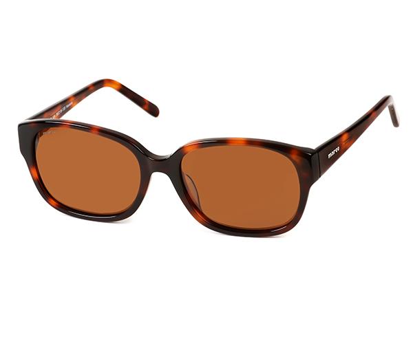 MARCO 104 Havana polarized sunglasses (side-view)