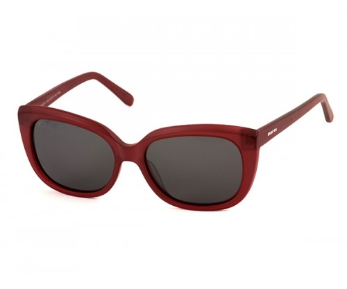MARCO 106 Burgundy Sunglasses Side View