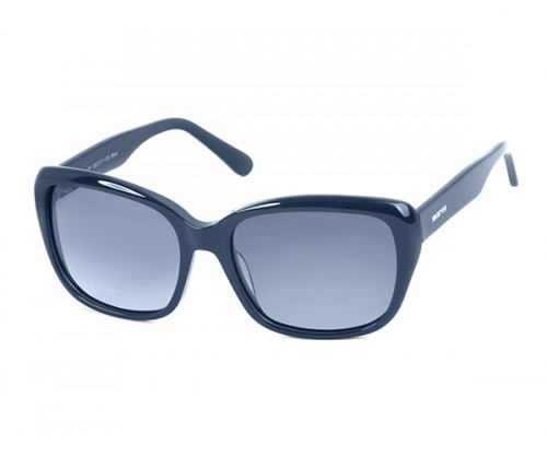 MARCO 111 Navy Polarized Sunglasses (SIDE-VIEW)