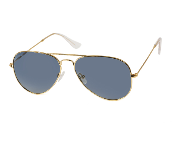 MARCO 112 GOLD Polarized Sunglasses (SIDE-VIEW)