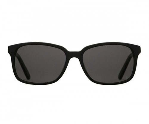 MARCO 115 Black Polarized Sunglasses Front View