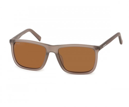 MARCO 116 Men's Brown Polarized Sunglasses Side View